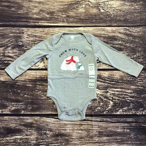 Polar Bear Long Sleeve Old Navy Onesie
